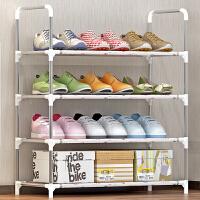 索尔诺/实用层架/防锈钢管收纳架/4层简易鞋架xj-A04