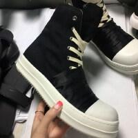 DAZED CONFUSED 欧美范个性时尚秋季新款大小码情侣鞋高帮鞋男女鞋增高休闲鞋板鞋