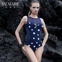 范德安高端泳衣女 小胸聚拢性感修身显瘦 保守遮肚温泉度假泳装