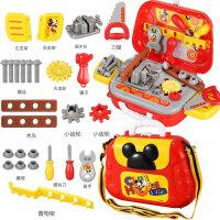 儿童工具箱玩具宝宝维修箱男孩子修理拧螺丝玩具过家家套装儿童节礼物