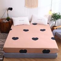 特兰斯单件床罩全棉床套加厚夹棉席梦思保护套床垫套罩防滑固定