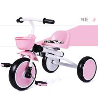 创意新款可坐人儿童电动车折叠儿童三轮车脚踏车小孩童车宝宝车推车1-5岁轻便婴儿车