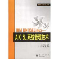 【二手正版9成新现货包邮】 IBM UNIX&Linux:AIX 5L系统管理技术――计算机专业人员书库 于宁斌 电子