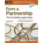 【预订】Form a Partnership: The Complete Legal Guide