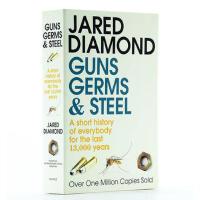 【瑕疵品】Guns, Germs and Steel: A short history of everybody 【英文原版】枪炮、病菌与钢铁:人类社会的命运