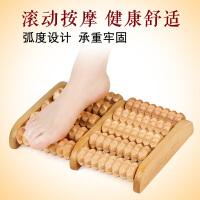 足底脚底按摩器木质滚轮实木脚部足部小腿部按摩脚器穴位滚珠保健