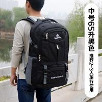男士装衣服的包 大容量超大双肩行李包多功能旅行包 出差背包