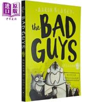 【中商原版】我是大坏蛋2 The Bad Guys2 儿童趣味漫画 英语学习 章节书小说 Scholastic美国学乐