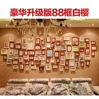 客厅照片墙相框墙 一面墙装饰相框创意组合挂墙相片墙欧式背景墙