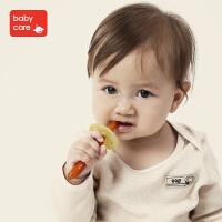 儿童训练软毛牙刷乳牙刷 银婴儿牙胶宝宝1-2-3岁硅胶