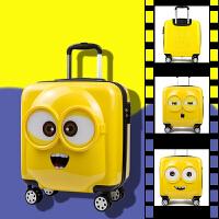 儿童行李箱男20寸小孩宝宝拉杆箱女 卡通可爱万向轮学生旅行箱18