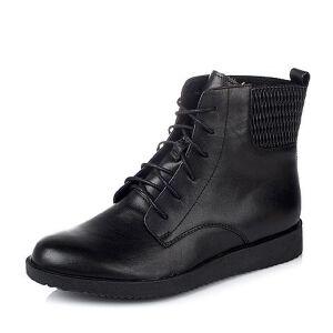 Teenmix/天美意专柜同款牛皮女短靴6US43DD6