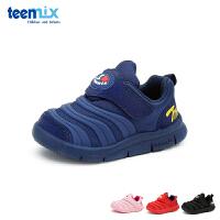 天美意teenmix童鞋18新款秋季婴幼童经典毛毛虫学步鞋运动鞋宝宝休闲鞋舒适稳步鞋 (0-4岁可选) DX7042