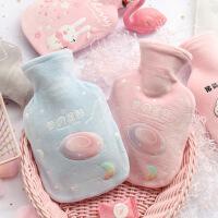 可爱卡通毛绒热水袋宝宝绒暖手宝学生暖水袋暖宫注水袋定制批发