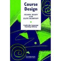 【预订】Course Design: Developing Programs and Materials for