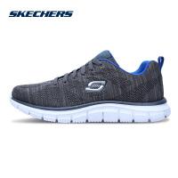 【*注意鞋码对应内长】Skechers斯凯奇男鞋简约网面绑带低帮鞋 潮流运动休闲鞋 999731