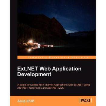【预订】Ext.Net Web Application Development美国库房发货,通常付款后3-5周到货!