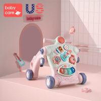 男女宝宝学步车多功能fang侧翻婴儿学走路助步手推车