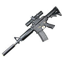 M416儿童玩具枪男孩手动M498k可发射HK416玩具抢