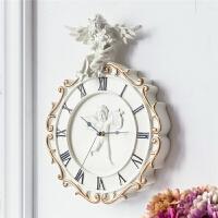 钟表挂钟客厅欧式个性创意时尚现代简约大气卧室家用静音装饰时钟