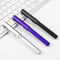 中性笔0.5黑色子弹头笔芯签字笔学生用考试笔商务简约办公用笔水性笔水笔创意圆珠笔