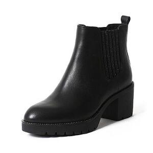 Teenmix/天美意专柜同款牛皮女靴6D542DD6