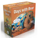【顺丰包邮】进口英文原版绘本 Days with Bear 3本盒装 小熊成长的烦恼 Bear Feels Scare