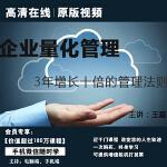 王磊企业量化管理3年持续增长10倍正版高清在线视频非DVD光盘 8