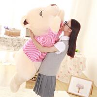 泰迪熊公仔毛绒玩具熊大号布娃娃女生抱抱熊趴趴熊公仔元旦礼物女