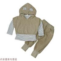 冬季男童秋�b2018新款套�b小�和�1����三件套0����3-4-5周�q6洋��2潮秋冬新款