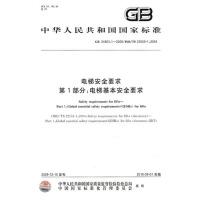 电梯安全要求 第1部分:电梯基本安全要求 GB24803.1-2009