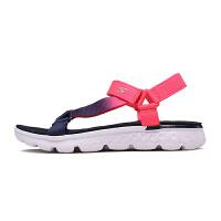 Skechers斯凯奇女鞋透气舒适凉鞋 休闲魔术贴沙滩鞋凉拖 14677