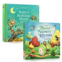 儿童英文原版 Baby's Bedtime Music Book Musical Nursery Rhymes 睡前晚