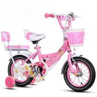 儿童自行车公主车男女宝宝车345678岁12141618寸小孩自行车
