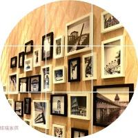 照片墙 相框墙创意组合 客厅卧室相片墙现代简约北美相框挂墙组合