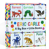 英文原版 The World of Eric Carle: Big Box of Little Books 9册手掌迷