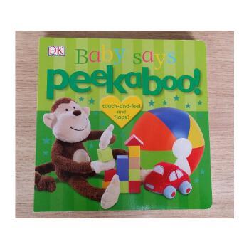 英文原版Peekaboo! Baby Says 儿童英语启蒙读物