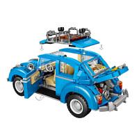 LOZ/俐智 创意亲子模型玩具 益智玩具车模mini小汽车 兰博警车模型 儿童玩具 甲壳虫卡特汉姆2合1