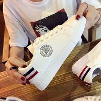 2017秋季新款女鞋平底透气帆布鞋韩版运动跑步鞋系带休闲鞋板鞋潮06NX