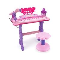 儿童电子琴女孩钢琴初学3-6-12岁5女宝宝女童可弹奏音乐玩具小孩