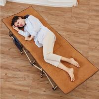 折叠床 单人午休床户外行军床办公室可折叠便携陪护床午睡床十脚床折叠床