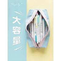 本小姐 笔袋韩国简约女生小清新可爱 创意文具用品文具盒铅笔袋
