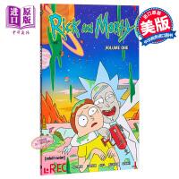 【中商原版】瑞克与莫蒂漫画1 英文原版 Rick and Morty: V.1 美国科幻情景喜剧 卡通漫画 高分神作