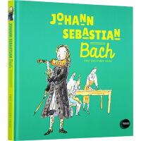 英文原版 Johann Sebastian Bach 约翰巴赫 第一次发现音乐家 First Discovery Mu