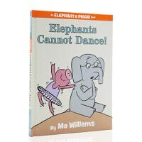 【全店300减100】英文进口绘本 Elephants Cannot Dance 小猪小象吴敏兰童书