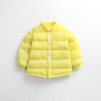 新款儿童羽绒男童短款外套中小童0~7岁宝宝秋冬保暖内胆棉袄