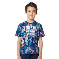 探路者Toread kids 男童风格系列满印圆领短袖T恤