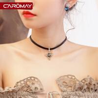 装饰锁骨项链女短款吊坠颈链简约脖子饰品颈带