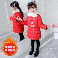 童装2019冬季新款夹棉女童围脖新年服连衣裙儿童唐装拜年装