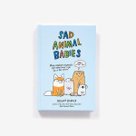 【中商原版】悲伤的动物宝宝们 英文原版 是我孩子也把你弄哭了吗?Sad Animal Babies 萌翻全球的爆笑 幽